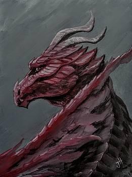 Crimson Dragon by Jennifer Hotai
