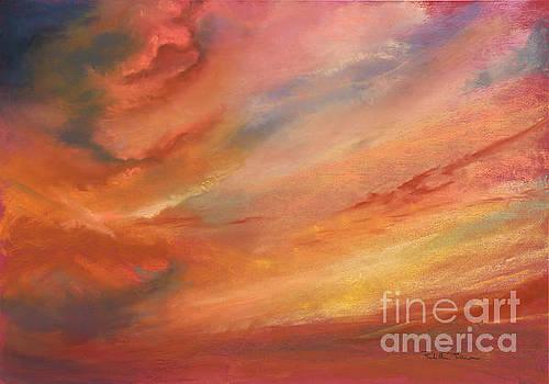 Crimson Haze  by Robin Maria Pedrero