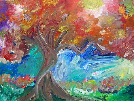 Crimson Sky by Derick Van Ness