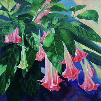 Crimson Trumpets by Nancy Viola