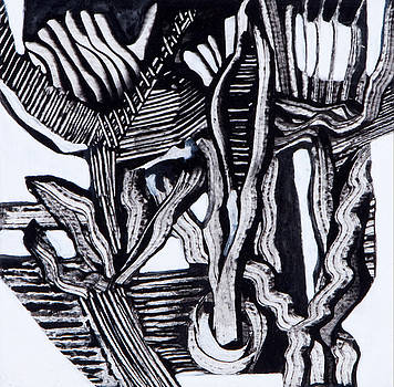 Crinoids - Lillies by Sandra Salo Deutchman