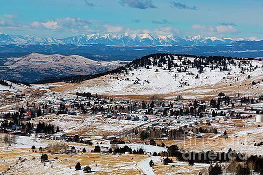 Steve Krull - Cripple Creek and Sangre de Cristo Mountains in Winter