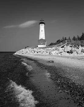Crisp Point Lighthouse by Kimberly Kotzian