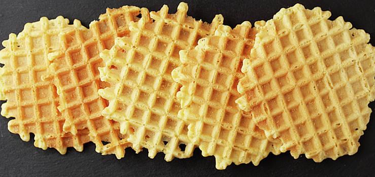 Crispy wafers by Iuliia Malivanchuk
