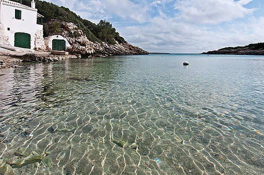 Pedro Cardona Llambias - Cristaline water and vintage mediterranean seaside hut