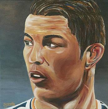 Cristiano Ronaldo by Suzette Castro