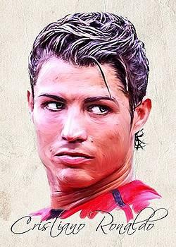 Cristiano Ronaldo by Wu Wei