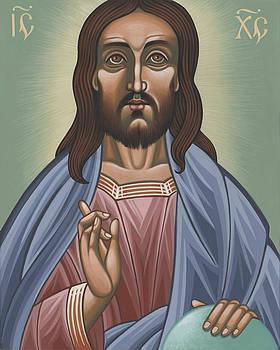 Cristo Pantocrator 175 by William Hart McNichols