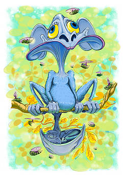 Critterz Muvva Aqua by Ross Carroll