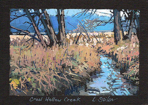 Croal Hollow Creek- Series No.6 by Larry Seiler
