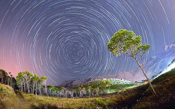 Croatia Star Trails by Bartosz Wojczynski