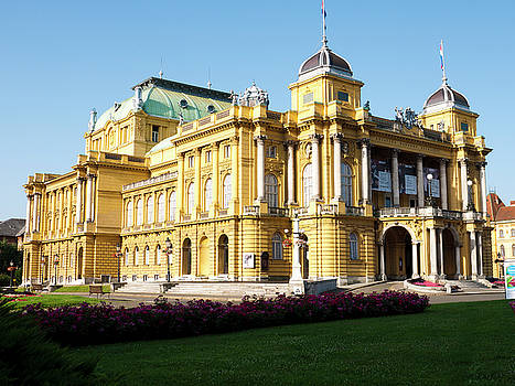 Croatian National Theatre by Rae Tucker