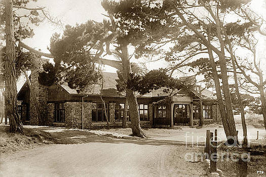 California Views Mr Pat Hathaway Archives - Crocker Dining Hall Asilomar Pacific Grove Circa 1925