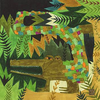 Crocogator by Kate Cosgrove