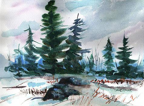 Croney's Pine Trees by Olga Kaczmar