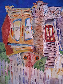 Crooked house by Marlene Robbins