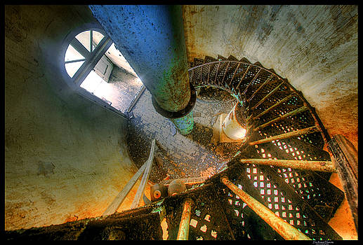 Crooked Island Light Stairs by Jim Austin Jimages