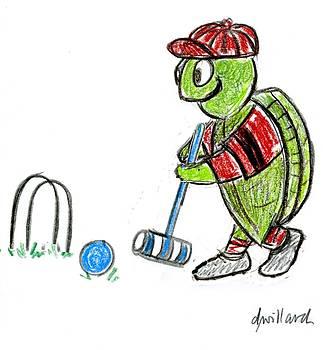Croquet Turtle by Deborah Willard
