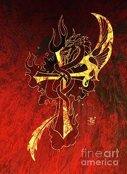 Cross and Dragon by Robert Ball