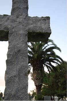 Cross and palm by Cynthia Lempitsky