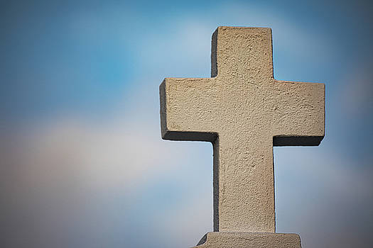 Cross at Saint Roch's by Jerry Fornarotto