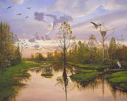 Cross Creek by Keith Martin Johns
