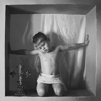 Cross by E Gibbons