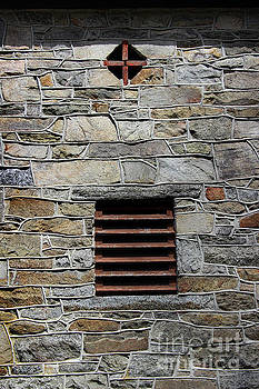 Cross in a Wall by Karen Adams