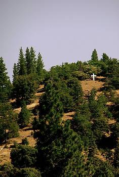 Cross on the Hill by Allison  Adams