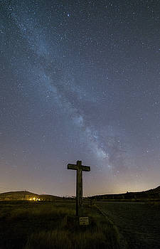 Cross over to the milky way by Bruno Rosa