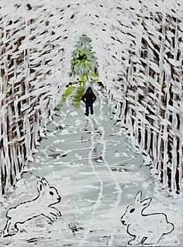 Crossing paths by Jonathon Hansen