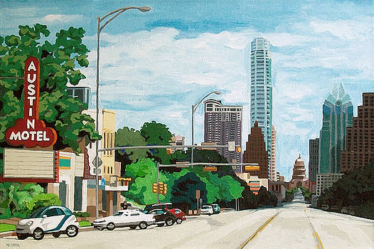 Crossing South Congress by Melinda Patrick