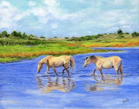 Crossing the Marsh by Deborah Butts