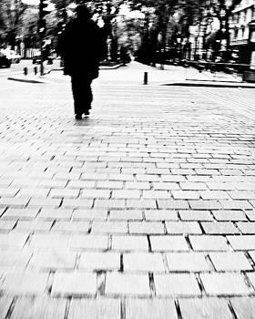 Crossing the street by Felix M Cobos
