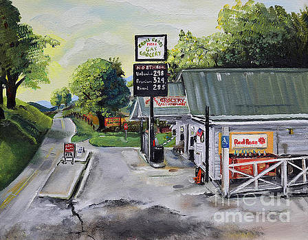 Crossroads Grocery - Elijay, GA - Old Gas and Grocery Store by Jan Dappen