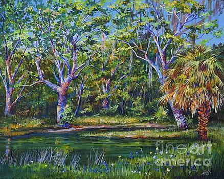 Croton Pond by AnnaJo Vahle
