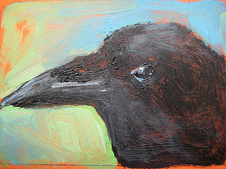 CROW aceo by Susan Jenkins
