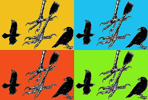 Crow Feet Four by Diana Ludwig