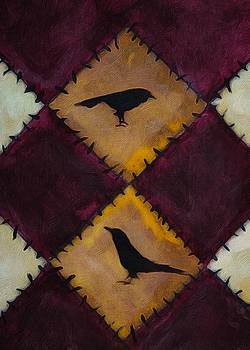 Crow Quilt  by Michele Carter