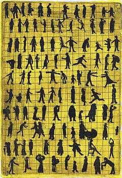 Crowd by Bert Menco