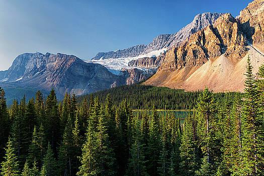 Crowfoot Glacier by Dennis Kowalewski