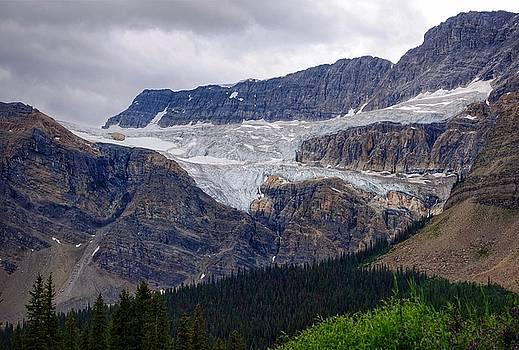 Crowfoot Glacier by Heather Vopni