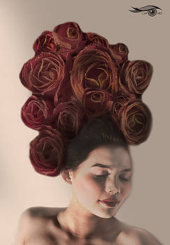 Crown of Roses by Cmi Art