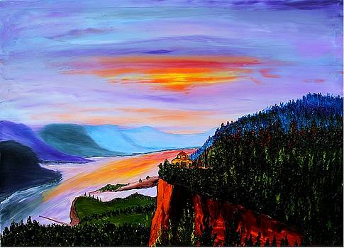 Crown Point At Columbia RiverGorge #1 by Portland Art Creations