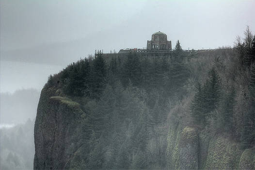 Crown Point Vista House Columbia River Gorge Oregon by Dustin K Ryan