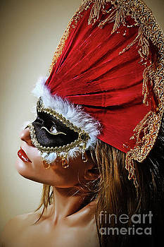 Dimitar Hristov - Crown Princess Venetian Eye Mask