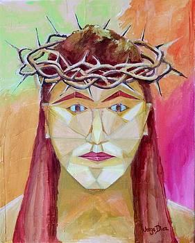 Crowned Christ by Jorge Diez