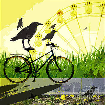 Crows Day Out by Sarah Niebank