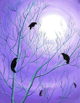 Laura Iverson - Crows on Empty Branches