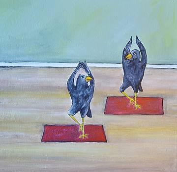 Crowsintreeasanaa by Lisa Kaye
